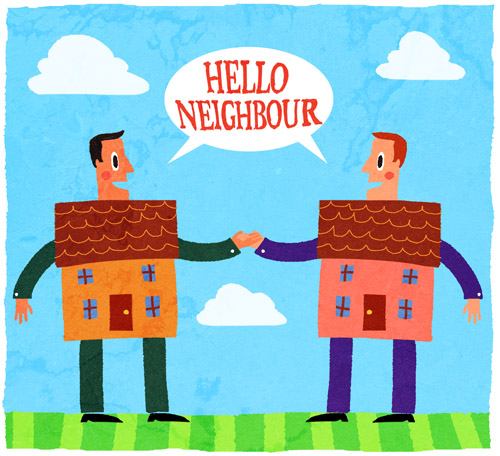 essay good neighbours Good neighbours can make us feel comfortable and help us, and everyone benefits from a good relationship with neighbours  haven't found the essay you want.